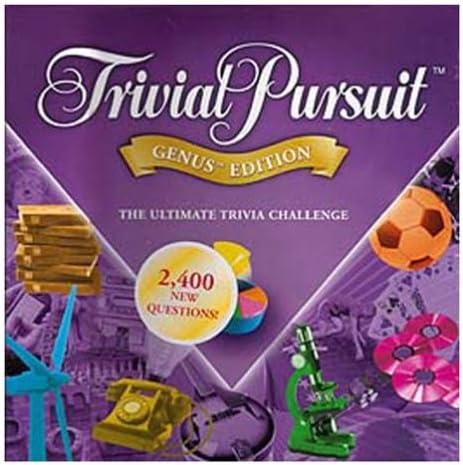 Hasbro Trivial Pursuit Genus Edition Juego de Mesa (Idioma español no garantizado): Amazon.es: Juguetes y juegos