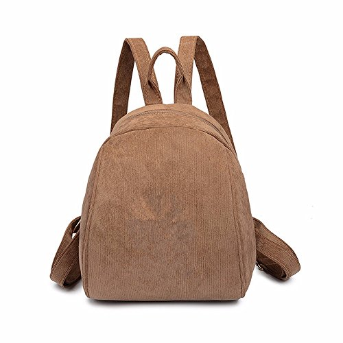 Small Corduroy Retro Red Shoulder Backpack Version Lmdsg Bag Korean Wine 2018 Peacock Bag Blue Velvet Print Simple Female Student Wild Mini 1d6Tq6
