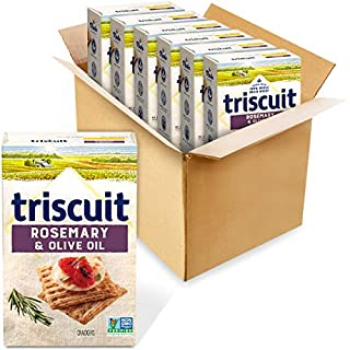 Triscuit Rosemary & Olive Oil Whole Grain Wheat Crackers, 6 - 8.5 oz Boxes