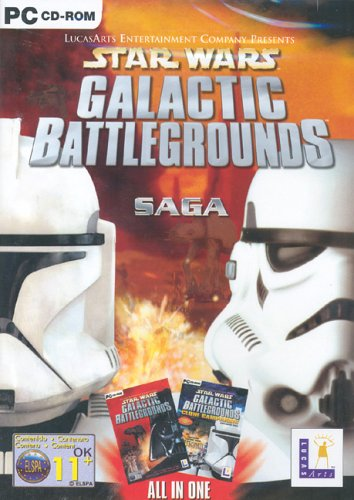 - Star Wars: Galactic Battlegrounds Saga