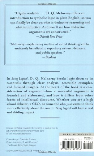 Being Logical: A Guide to Good Thinking: D.Q. McInerny ...