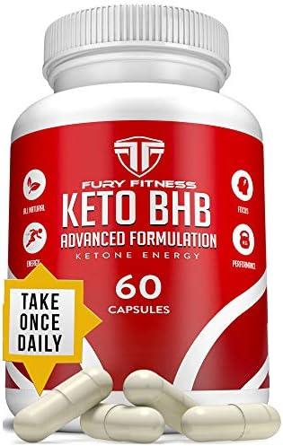 Keto BHB Oil Capsules Supplement product image