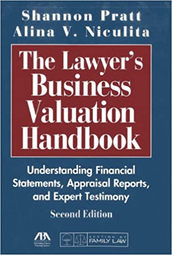 Amazon com: The Lawyer's Business Valuation Handbook (9781604428032