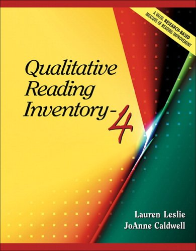 Qualitative Reading Inventory-4 (4th Edition)