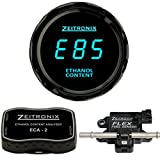 Zeitronix ECA-2 Ethanol E% Content Analyzer Kit with Blue Display Gauge