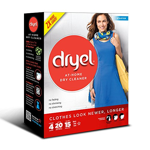 Dryel At Home Dry Cleaner Starter Kit   4 Loads