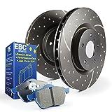 EBC Brakes S6 Rear Kits Bluestuff and GD Rotors, S6KR1101