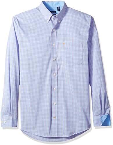 IZOD Men's Big and Tall Advantage Performance Stretch Long Sleeve Shirt