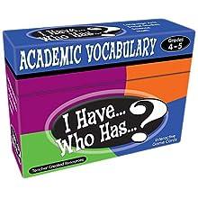 I Have...Who Has...? Academic Vocabulary Grades 3-4