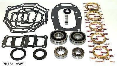 5 Speed Transmission Bearings - Jeep AX5 5 Speed Transmission Bearing Kit with Synchro Rings, BK161LAWS