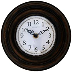 Ashton Sutton H07BB Metal Sofit/Cubicle Clock
