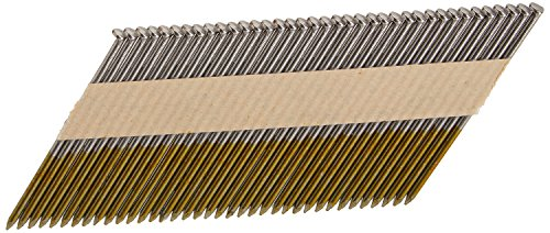 Hitachi 15107 3-1/4-Inch x 0.120-Inch Smooth Shank Clipped-Head Paper Tape Framing Brite Basic Nails, 2500-Pack