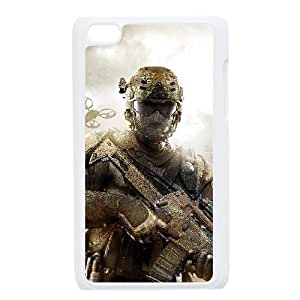 C-EUR Customized Phone Case Of Call Of Duty For Ipod Touch 4