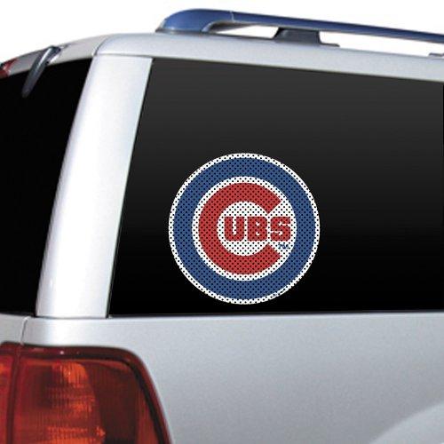 MLB Chicago Cubs Die Cut Window Film