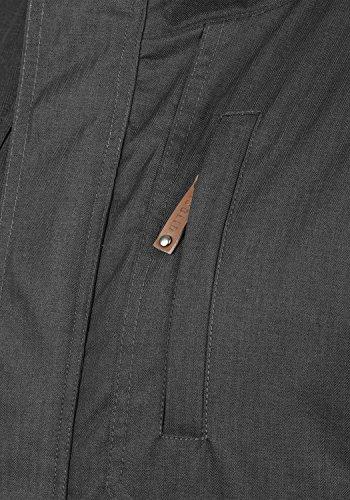 Cappuccio Giacca Con 2890 Bellippo solid Giubotto Di Dark Stagione Da Grey Piumini Mezza Uomo vqzxgzO5
