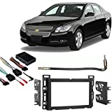 Fits Chevy Aveo 2009-2011 Single/Double DIN Harness Radio Install Dash Kit Car Electronics & Accessories