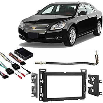 51YD7MCj0EL._SL500_AC_SS350_ amazon com fits chevy malibu 2008 2012 double din stereo harness  at crackthecode.co
