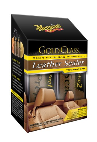 Meguiar's G3800 Gold Class Leather Sealer Treatment (Leather Couch Protectant)