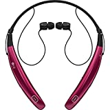 LG Electronics Tone Pro HBS-770 Stereo Bluetooth Headphones - Retail Packaging - Pink