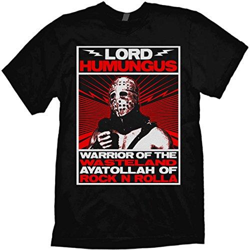 Mad Max Road Warrior T-Shirt Humungus Fury Road Black (Mad Max Fury Road Blu Ray Release)