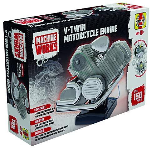Haynes MWHV2 V-Twin Motorcycle Engine Model, Multi (Best V Twin Motorcycle Engine)