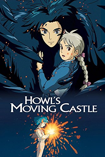 JIONK® Howl's Moving Castle(2004) Movie Poster 24X36 Inch