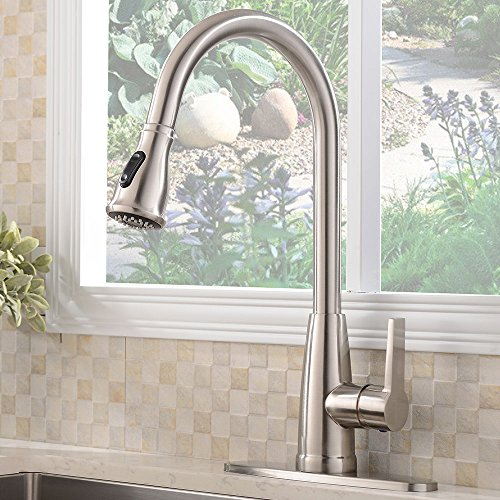 Stainless Pull Out Kitchen Faucet - 9