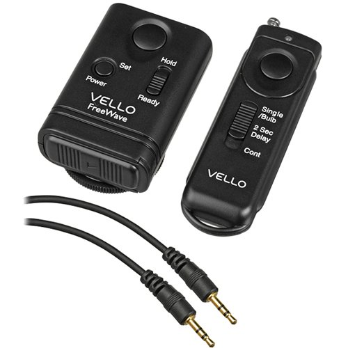 (Vello FreeWave Wireless Remote Shutter Release for Canon and Panasonic Kit)