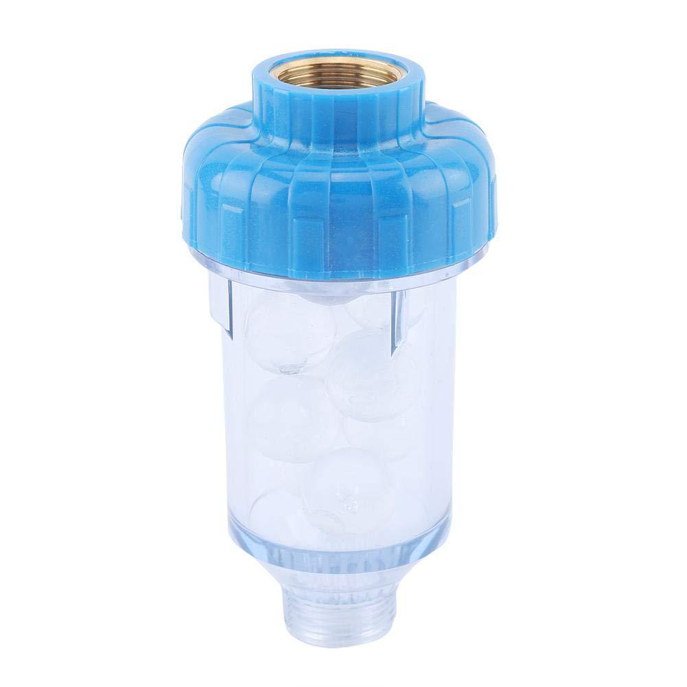 3//4 filtro Purificador de agua de retrolavado Accesorios de grifo de cristal de f/ósforo de silicio Purificador de agua de retrolavado