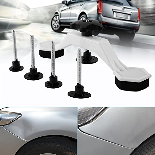 Qiilu PDR Tools Dent Removal Tools Car Body Paintless Dent Repair Tools Puller & Glue Pulling Tabs by Qiilu (Image #3)
