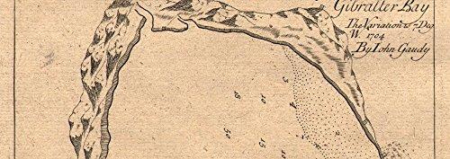 Amazon.com: Gibraltar Bay. Gibraltar & Algeciras, by John ...