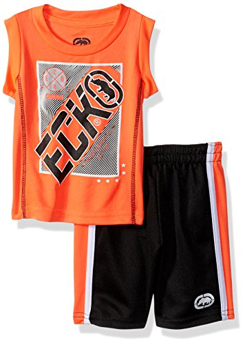 Marc Ecko Baby Boys 2 Piece Athletic Muscle Tank and Mesh Short Set