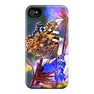 Scratch Resistant Cell-phone Hard Covers For Iphone 6plus With Customized Nice Butterfly Pictures AlissaDubois