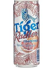 Tiger Radler Grapefruit Can, 330ml (Pack of 6)