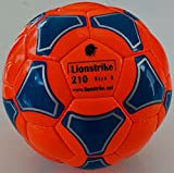 Lionstrike Leather Soccer Ball Size 3 Lightweight Soccer Ball for Children Youth Kids, Suitable for Girls Boys Aged 3, 4, 5, 6, 7 Years Old