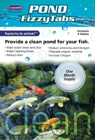 CB Natural Air Man Pond Fizzytabs Provide a CLEAN Pond for Your Fish!