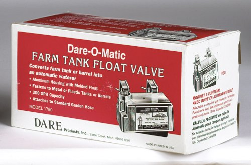 Dare Stock Tank Float Valve 85 Psi Plastic