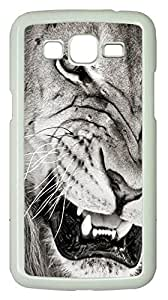 Samsung Galaxy Grand 2 7106 Cases & Covers - Mad Lion PC Custom Soft Case Cover Protector for Samsung Galaxy Grand 2 7106 - White