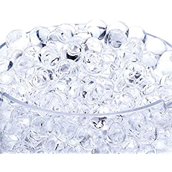 Onwon 20000 Pieces Crystal Soil Water Bead Gel, Floral Water Pearls Gel Soil Water Crystal Beads for Wedding Decoration Vase Fille, Candles, Plants, Toys, Education