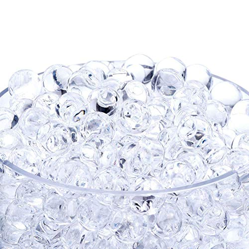 Water Absorbing Beads (Onwon 20000 Pieces Crystal Soil Water Bead Gel, Floral Water Pearls Gel Soil Water Crystal Beads for Wedding Decoration Vase Fille, Candles, Plants, Toys,)