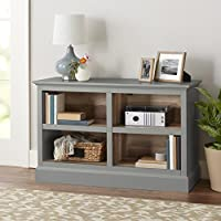 Better Homes and Gardens Dover Entertainment Console, TV stand for 50 TVs (Gray)