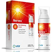 NERVEX Neuropathy Pain Relief with Arnica, B1, B5, B6, Capsaicin, MSM. Soothe & Regenerate. Reduce Burning, Tingling, Numbnes. Soothing Aloe and Coconut Oil Base