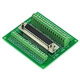 Electronics-Salon D-SUB DB50 Female Header Breakout Board, Terminal Block, Connector.