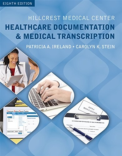 Hillcrest Medical Center: Healthcare Documentation and Medical Transcription (with Audio, 2 terms (12 months) Printed Access Card) by Ireland Patricia