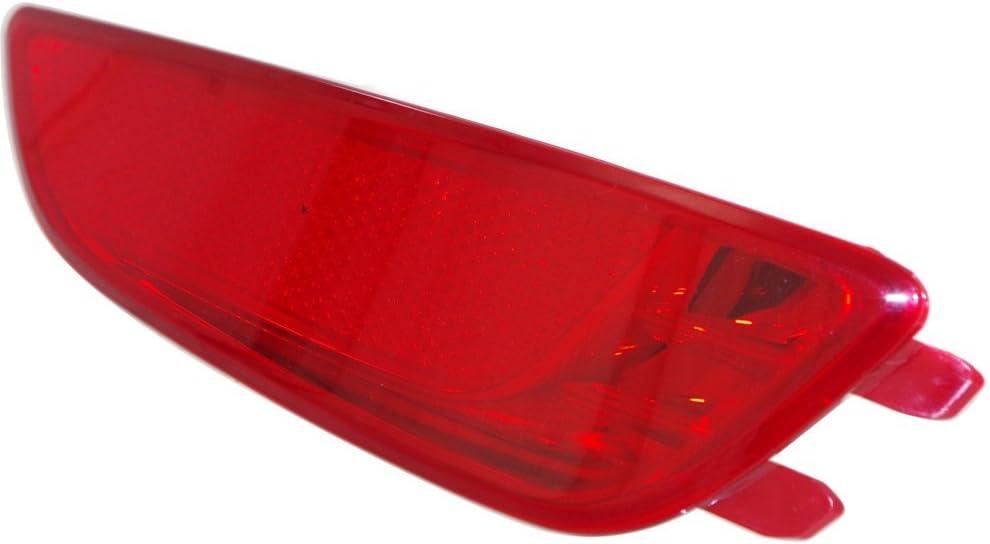 Bumper Reflector for 2012-2016 Hyundai Hyundai Accent Rear Right Side