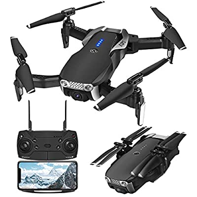 GPS Drones with Camera 1080p for Adults?EACHINE E511S WiFi FPV Live Video with 1080P Adjustable Wide-Angle Camera and GPS Return Home, 16 Mins Long Flight Time RC Quadcotper Helicopter