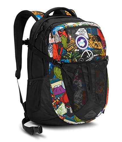 e0d19a6324e4d The North Face Men's Recon Tnf Red Sticker Bomb Print/Tnf Black One Size