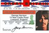 George Harrison - Beatles - Collector Card