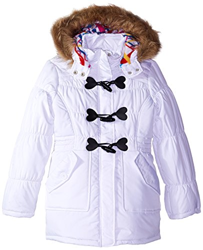Closure Urban White Fill Polyester Big Girls' Toggle Republic Jacket xSrZSOw0q
