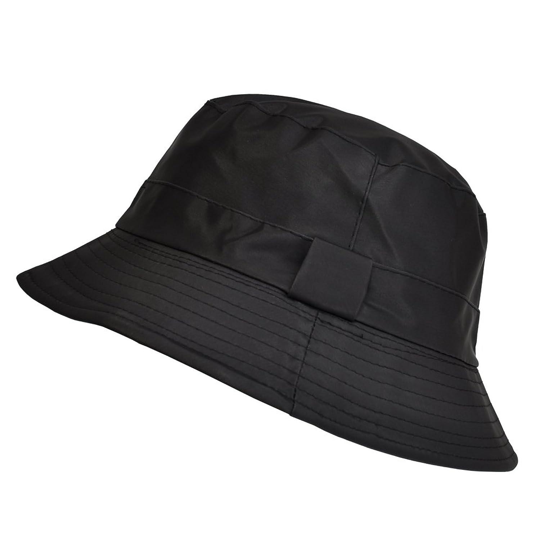 TOUTACOO Sombrero, Gorro para la Lluvia Impermeable en Nailon, T.U 58/60 cm